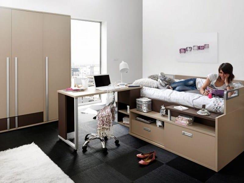 dimix loft bedroom set by gautier france. Black Bedroom Furniture Sets. Home Design Ideas