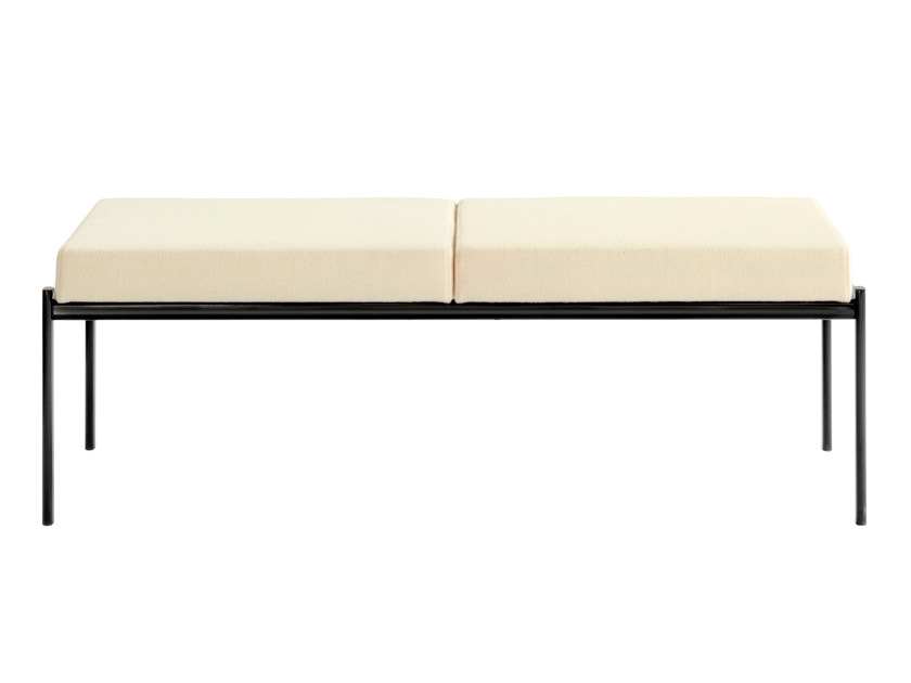 Upholstered steel bench KIKI | Upholstered bench by Artek