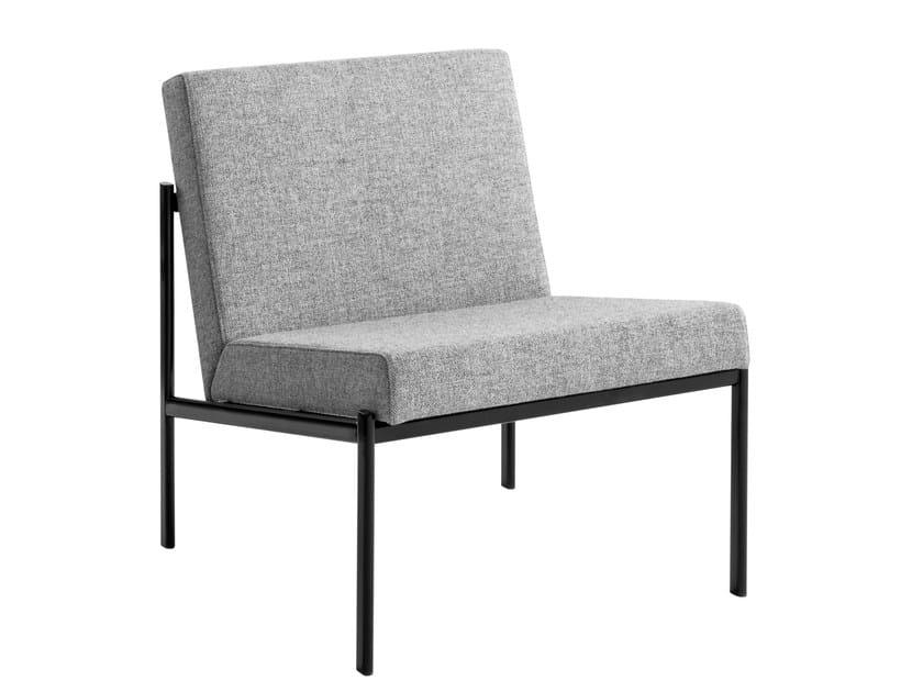 Upholstered fabric easy chair KIKI | Easy chair by Artek