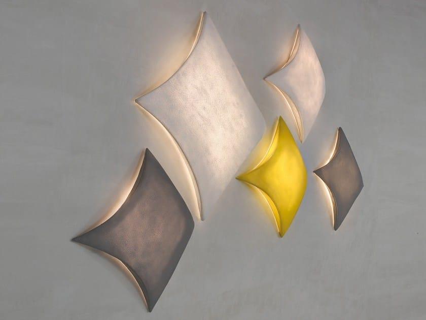 Silicone wall lamp / ceiling lamp KITE   Wall lamp by arturo alvarez