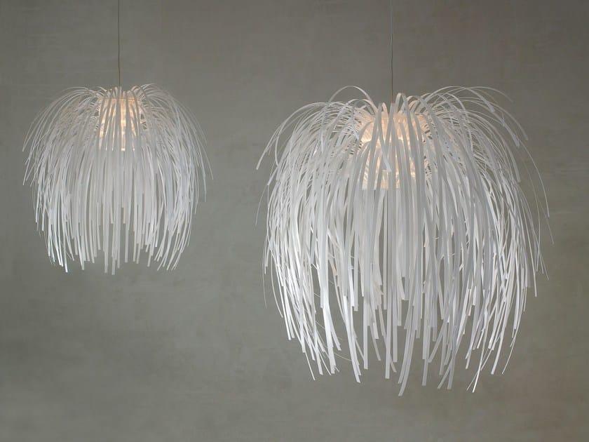 Polycarbonate pendant lamp TINA | Pendant lamp by arturo alvarez