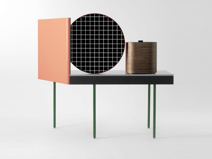 Ash dressing table CHANDLO by BD Barcelona Design