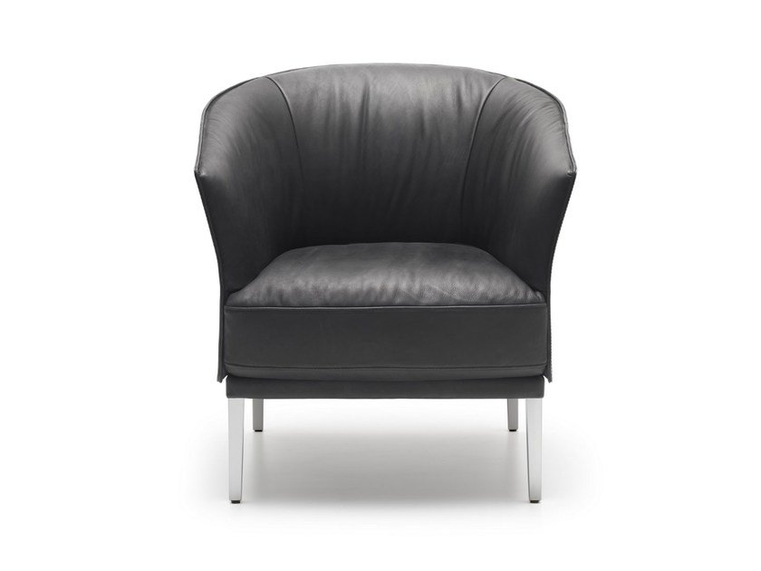 Upholstered leather armchair DS-291 | Armchair by de Sede