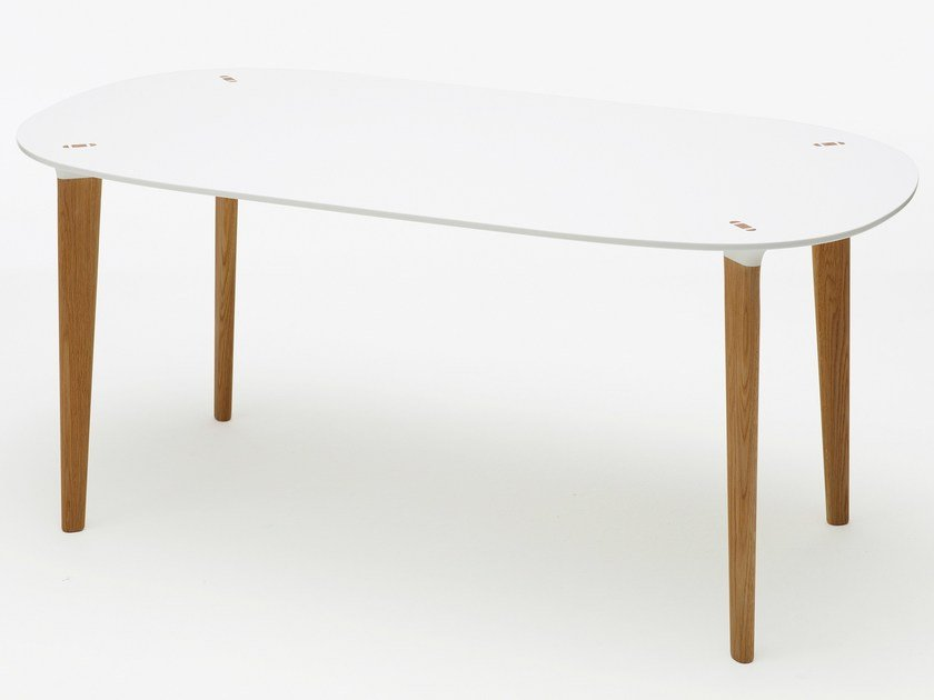 Rectangular dining table BUFF | Rectangular table by Karl Andersson