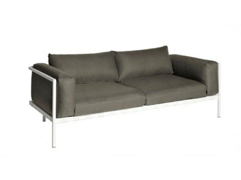 2 seater sofa NATAL ALU SOFA | Sofa by TRIBÙ