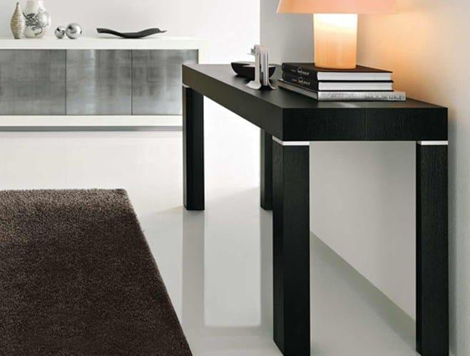 Consolle allungabile rettangolare in legno PQR 190/200/300 ...