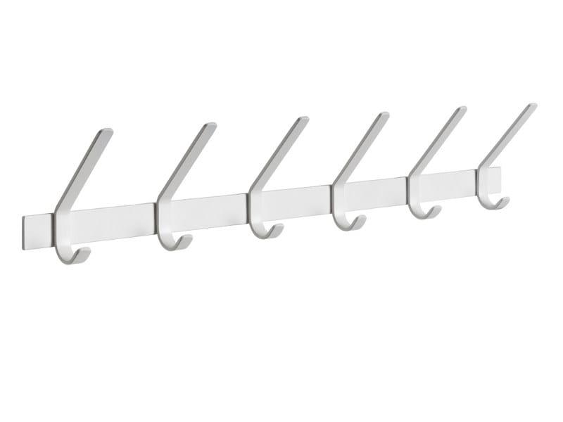 Wall-mounted steel coat rack UNI by e15