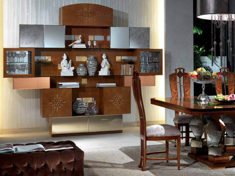 Bookcase / display cabinet KLIMT | Bookcase by Carpanelli Classic
