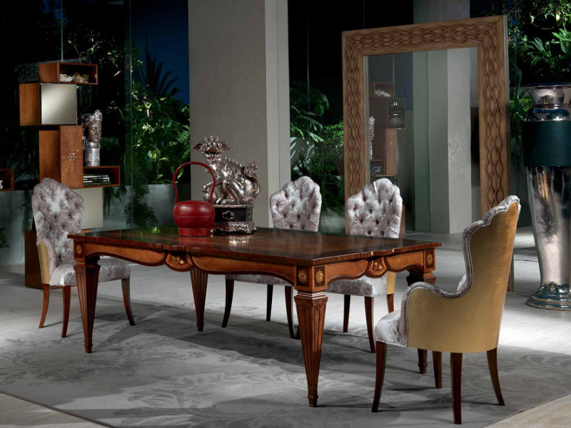 Extending rectangular table ACCADEMIA by Carpanelli Classic
