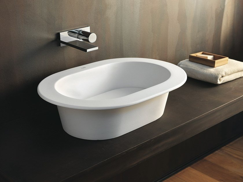 Countertop ceramic washbasin AMEDEO | Countertop washbasin by Ceramica Cielo