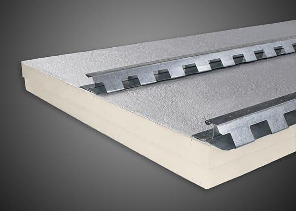 Polyiso foam under-tile system POLIISO® TEGOLA DOPPIO PASSO | Polyiso foam ventilated roof system by Ediltec