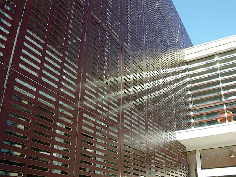 Opaque plastic laminate wall panel FUNDERMAX EXTERIOR by Kalikos