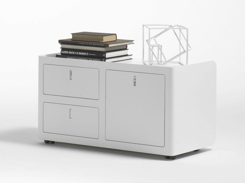 Metal office drawer unit CBOX DOUBLE by Dieffebi