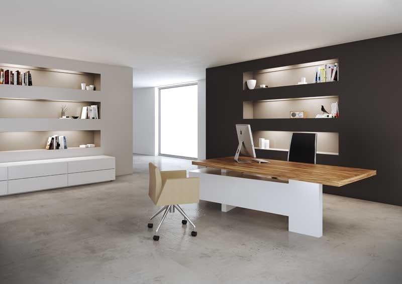 Wooden executive desk MAST | Executive desk by MASCAGNI