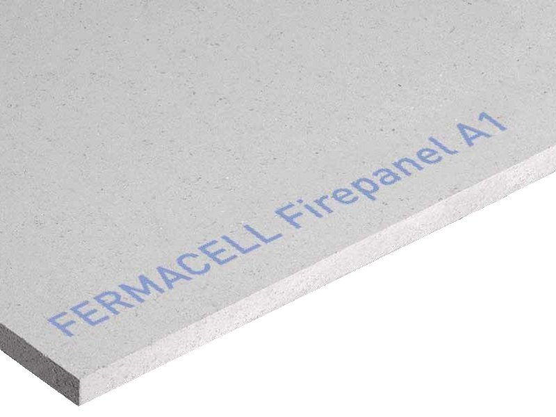 Fireproof panel for interior partition FIREPANEL A1 by Fermacell