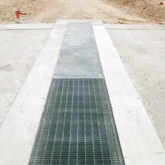 Elemento e canale di drenaggio D400 MAX by GRIDIRON GRIGLIATI