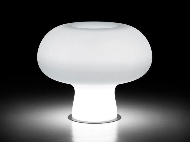 Polyethylene garden vase with Light BOYO LIGHT by Plust