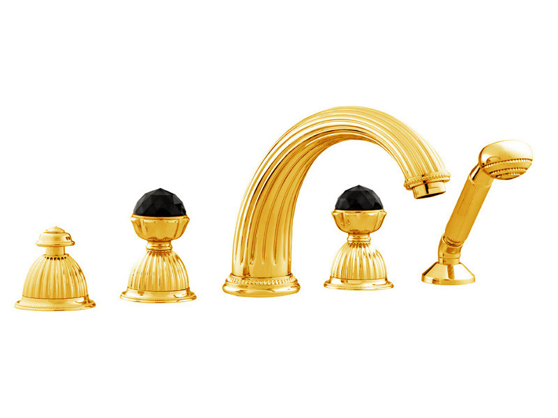 ARTICA | Set vasca con cristalli Swarovski® 033216 gold