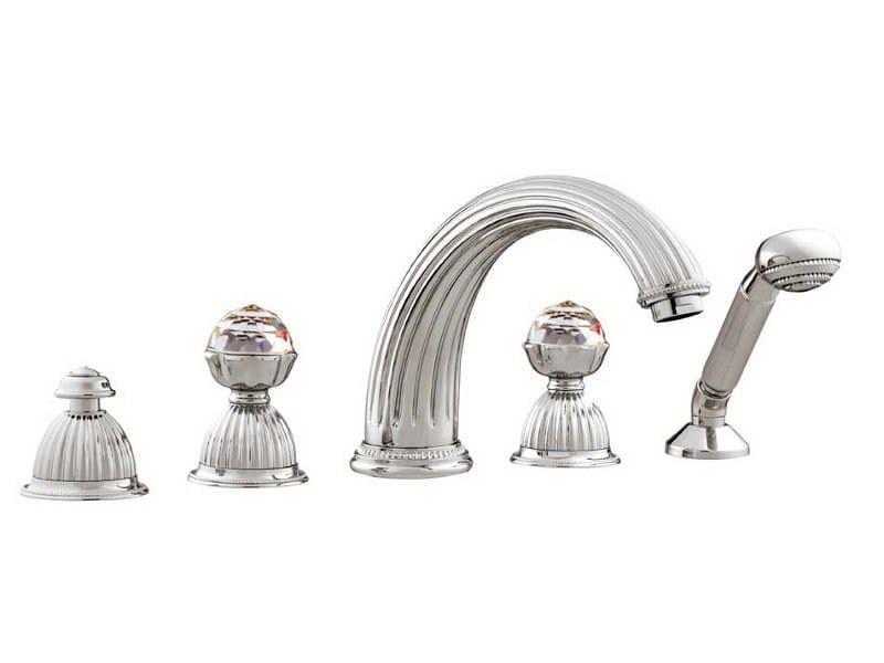 ARTICA | Set vasca con cristalli Swarovski® 033216 bright chrome