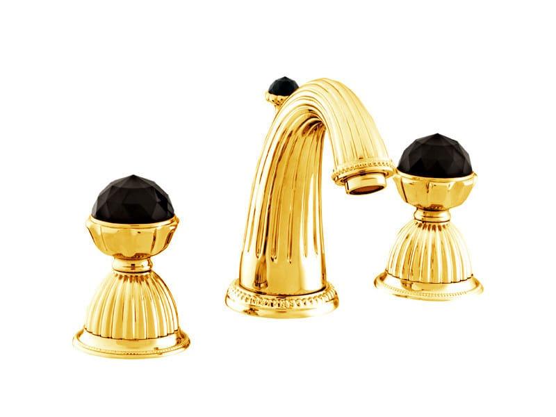 ARTICA | Rubinetto per lavabo con cristalli Swarovski® 033201 gold