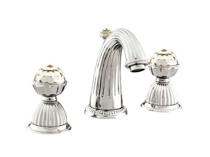 ARTICA | Rubinetto per lavabo con cristalli Swarovski® 033201 bright chrome