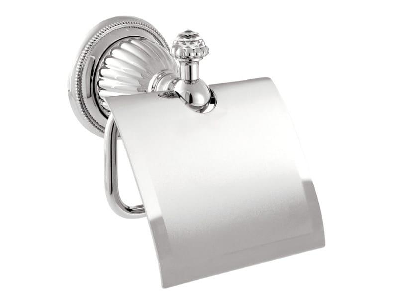 Brass toilet roll holder with Swarovski® Crystals ARTICA | Toilet roll holder with Swarovski® Crystals by Bronces Mestre