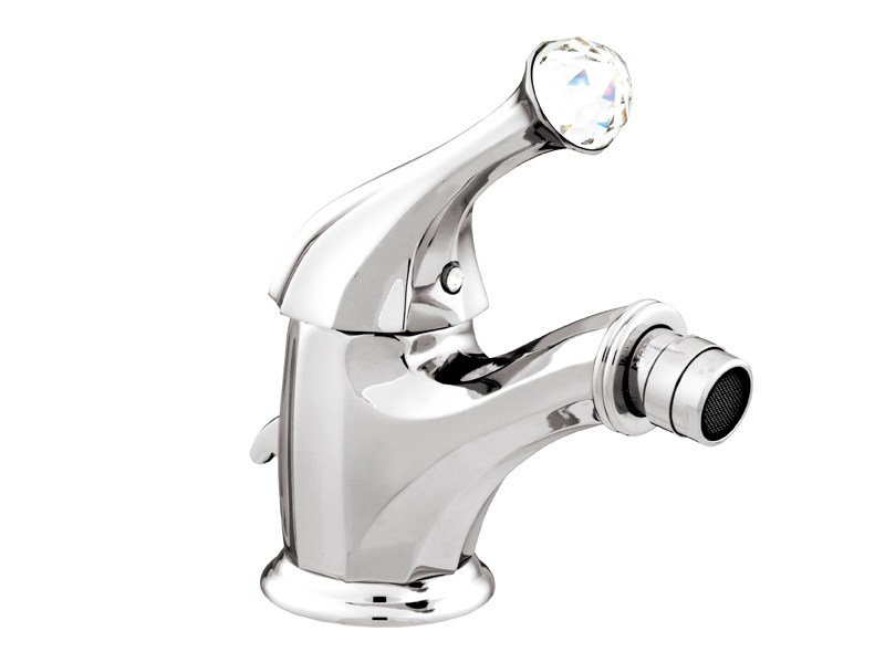 Single handle bidet mixer with Swarovski® crystals INDICA   Bidet mixer with Swarovski® crystals by Bronces Mestre