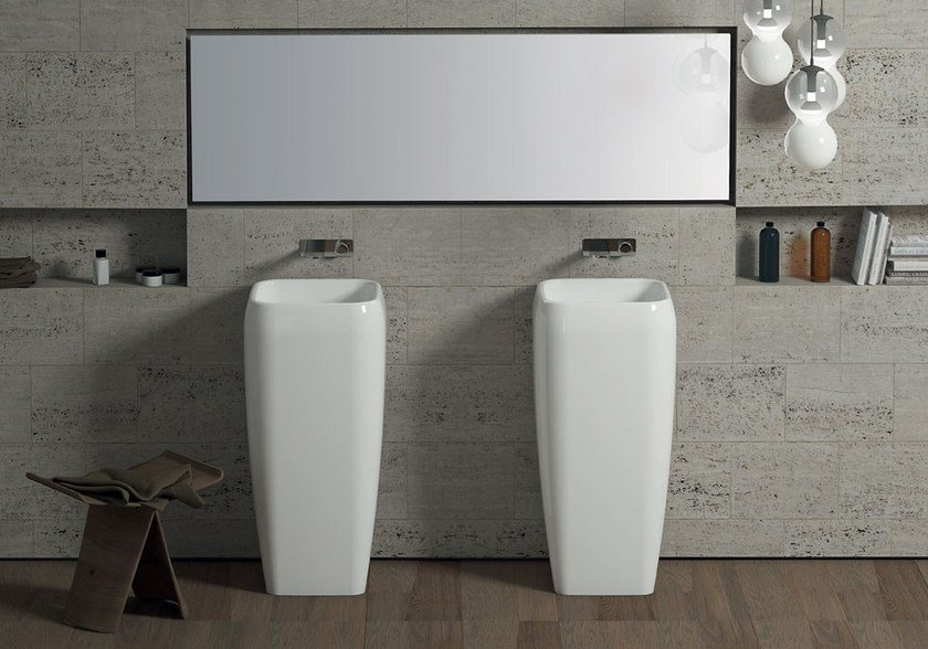 Shui Freestanding Washbasin By Ceramica Cielo Design Paolo D