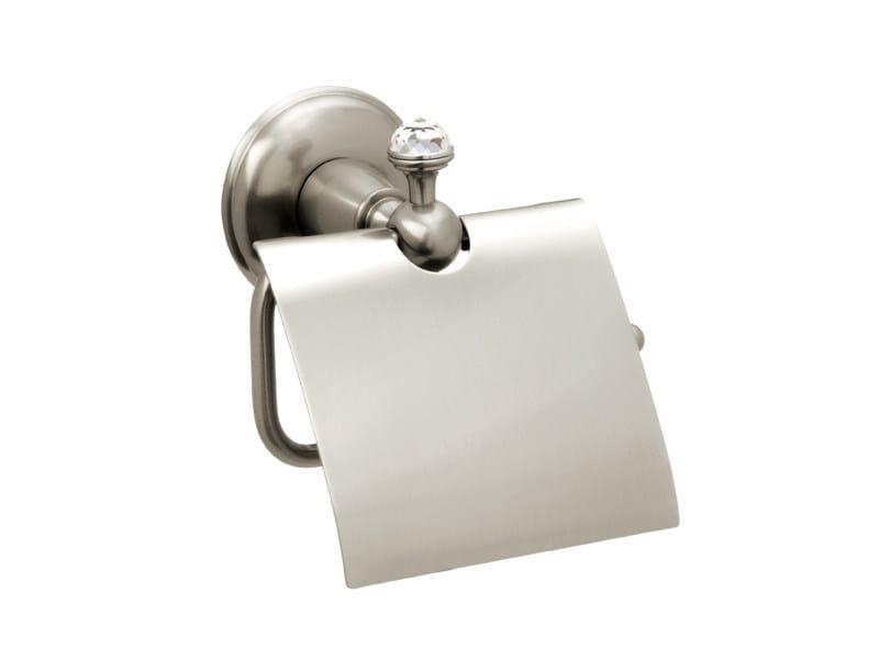 Brass toilet roll holder with Swarovski® Crystals RETRO | Toilet roll holder with Swarovski® Crystals by Bronces Mestre