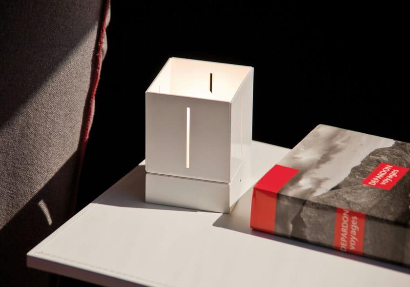 Aluminium table lamp MINI by Lucente
