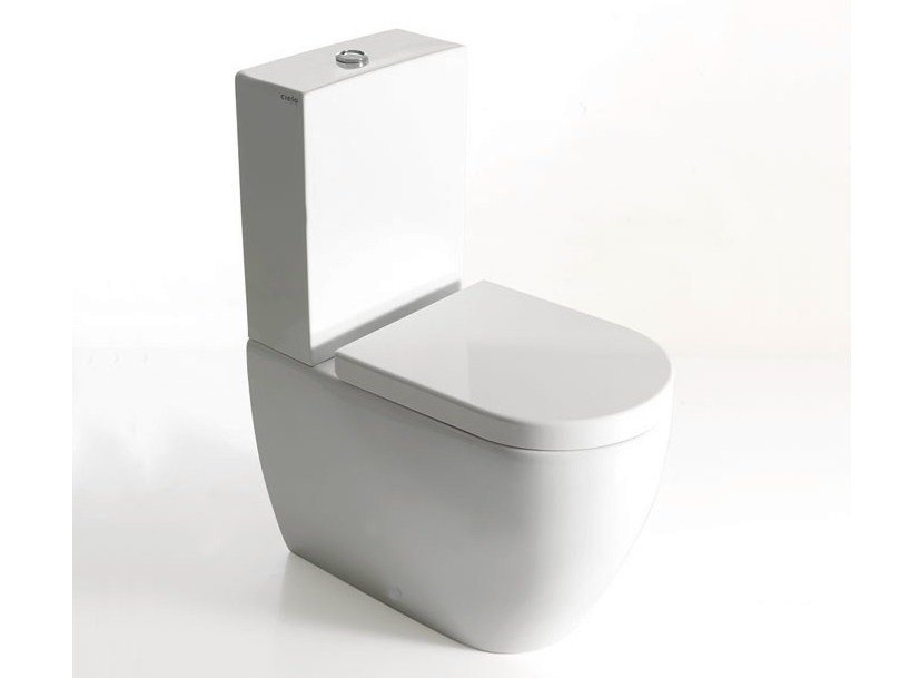 Smile Mini Close Coupled Toilet By Ceramica Cielo