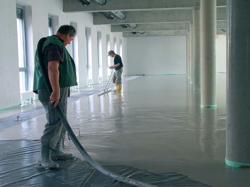 Pre-mix for thermal insulating screed FE 80 TERMICO by Knauf Italia
