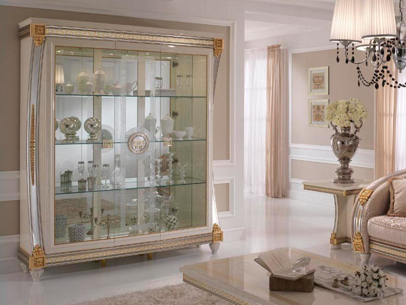 Art Nouveau display cabinet LIBERTY | Display cabinet by Arredoclassic