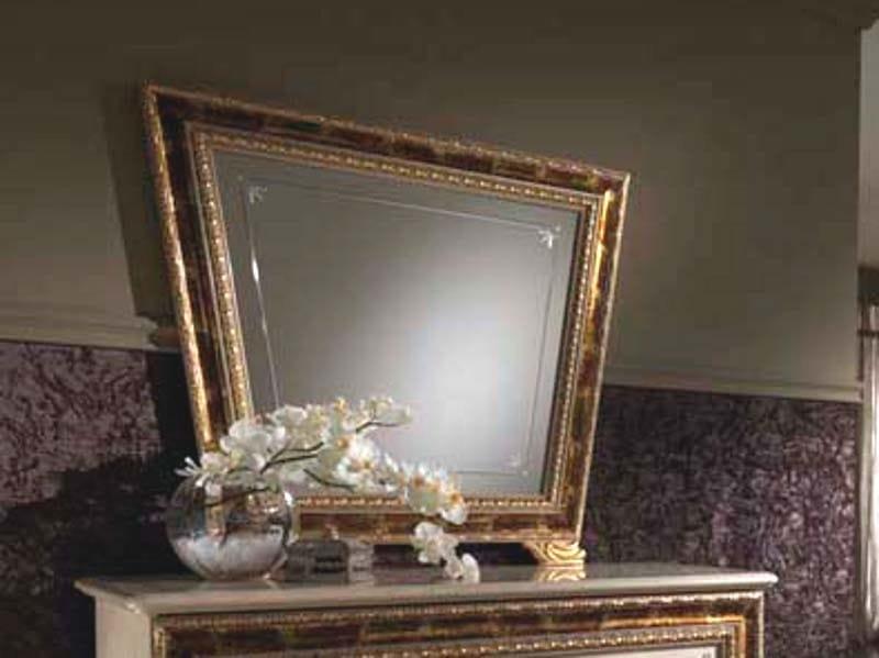 Classic style framed mirror RAFFAELLO | Mirror by Arredoclassic