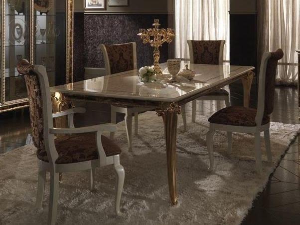 Tavoli Da Pranzo Classici : Tavolo da pranzo in stile classico raffaello tavolo arredoclassic