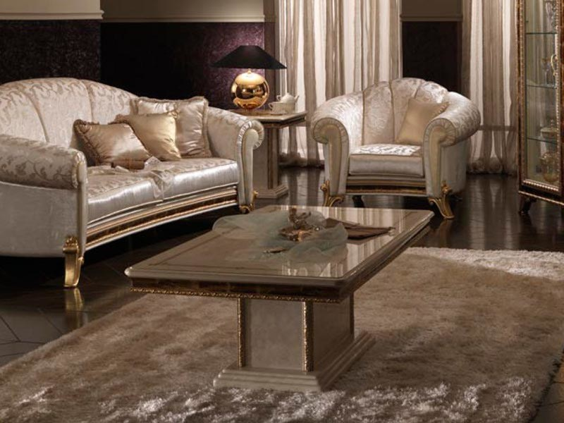 Classic style low coffee table RAFFAELLO | Coffee table by Arredoclassic