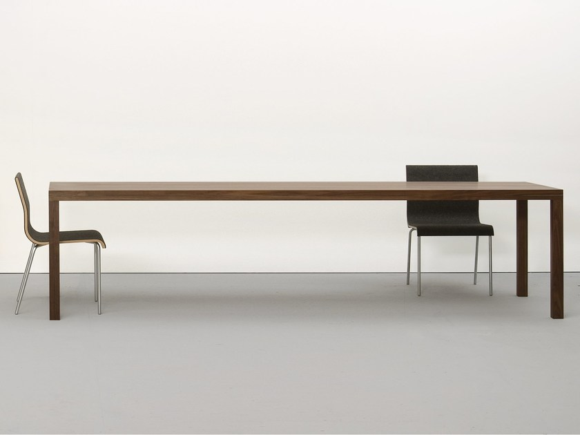 Solid wood table DINAVIER by Sanktjohanser