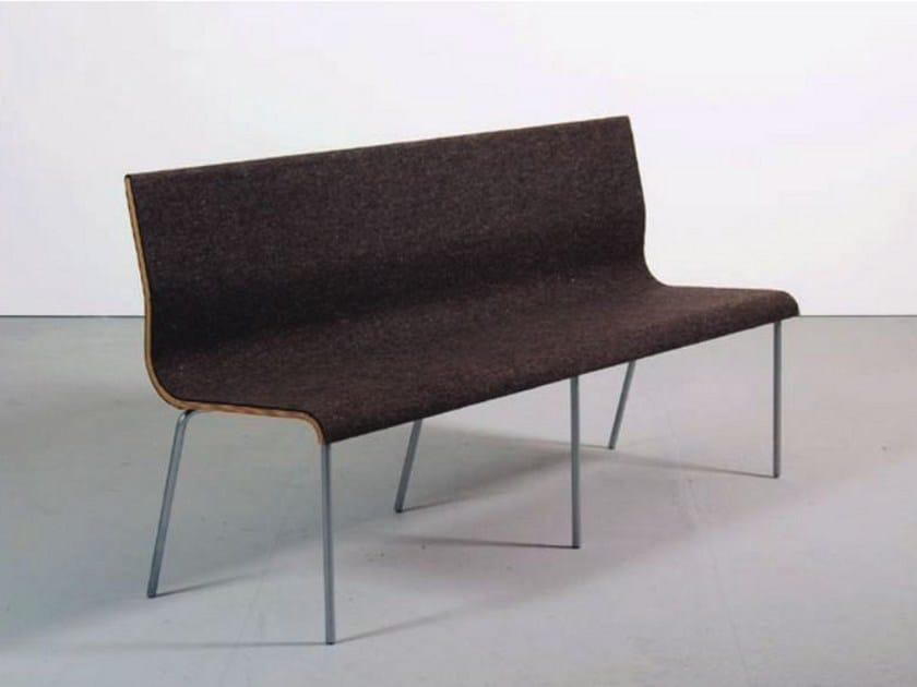 Plywood bench TANDEM by Sanktjohanser