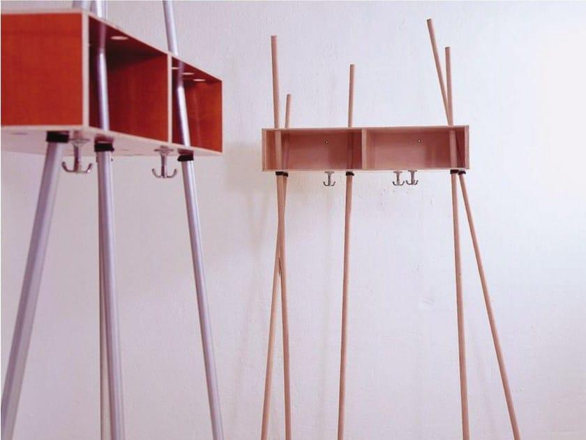 Multi-layer wood coat rack / hallway unit ADAM RIESE by Sanktjohanser