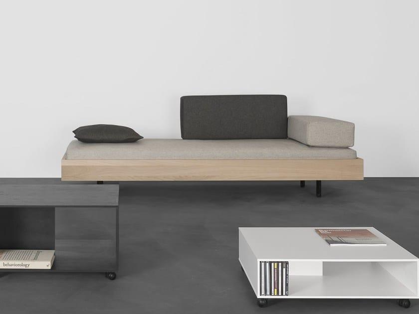 Solid wood sofa / bed IKU by Sanktjohanser