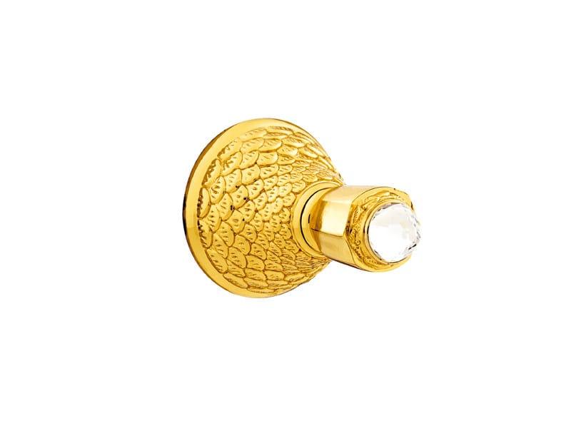 DRAGON | Porta asciugamani a gancio con cristalli Swarovski® 059275 gold