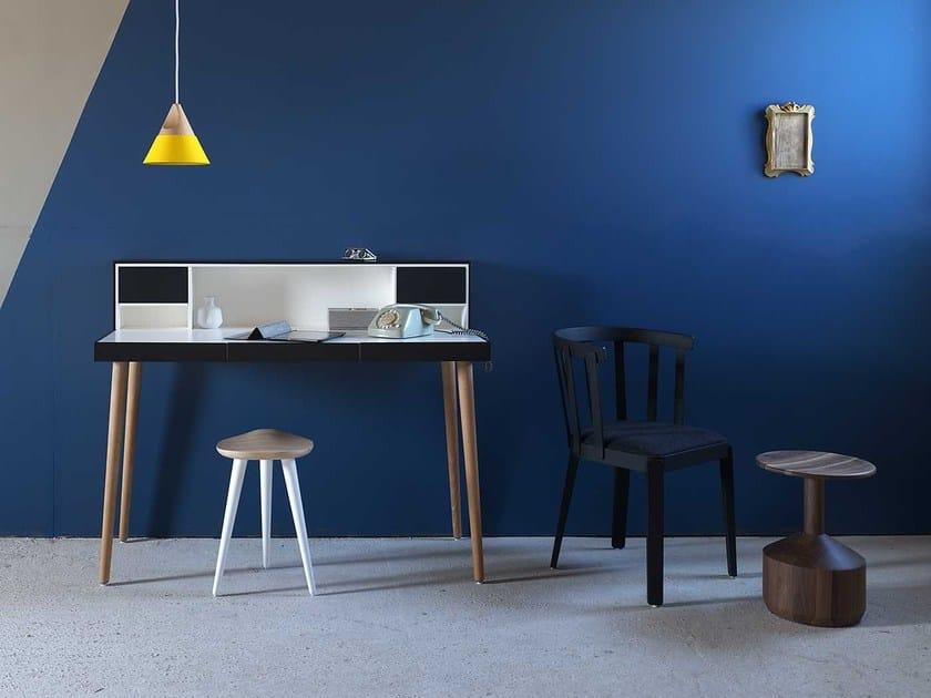 Solid wood secretary desk BARDINO by Miniforms