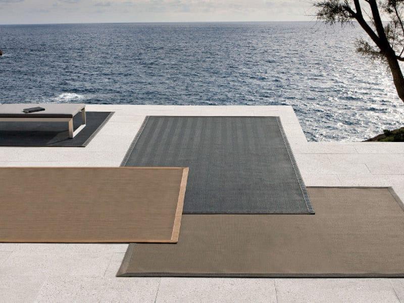 Rectangular outdoor rugs WALK ON IT by MANUTTI
