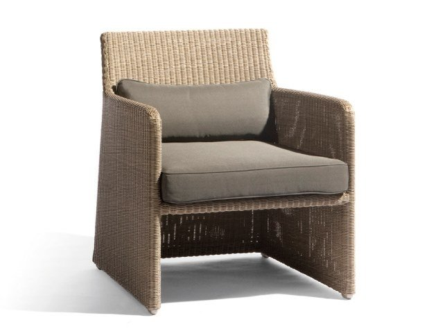 Rope garden armchair SWING | Lounge chair by MANUTTI