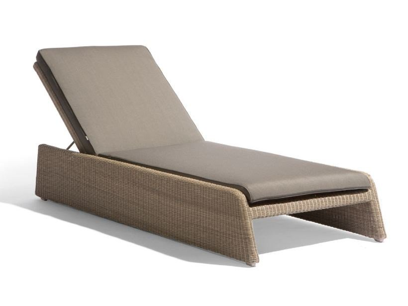 Recliner rope garden daybed SWING | Daybed by MANUTTI