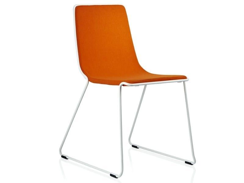 Sled base chair SPEED by Johanson Design