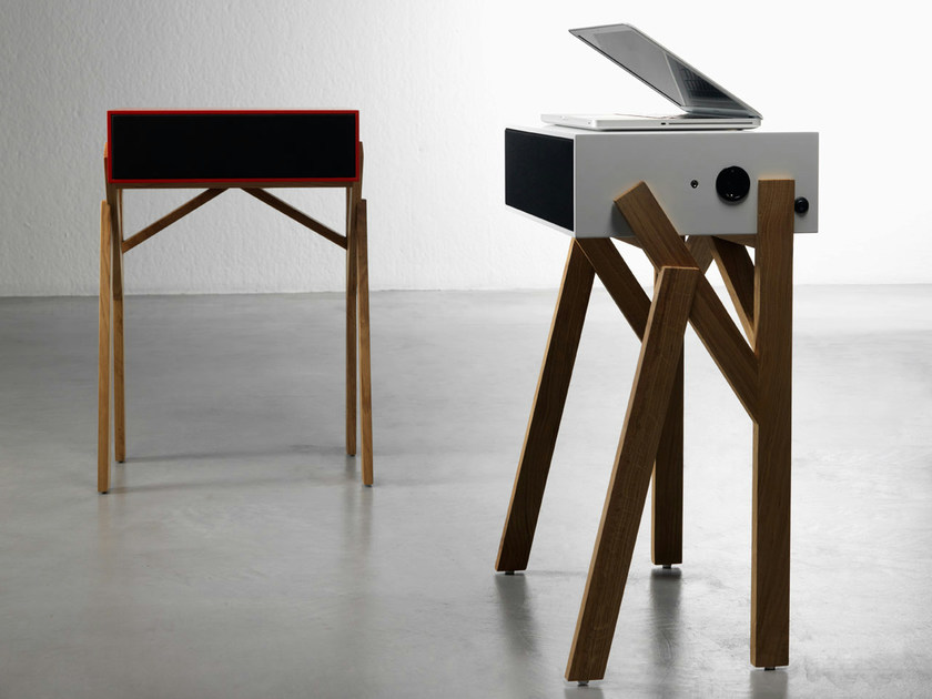 Lacquered computer cabinet TOROTOTELA by Miniforms