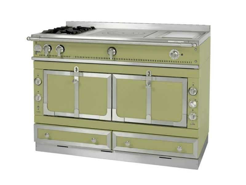 Stainless steel cooker CHÂTEAU 120 By La Cornue