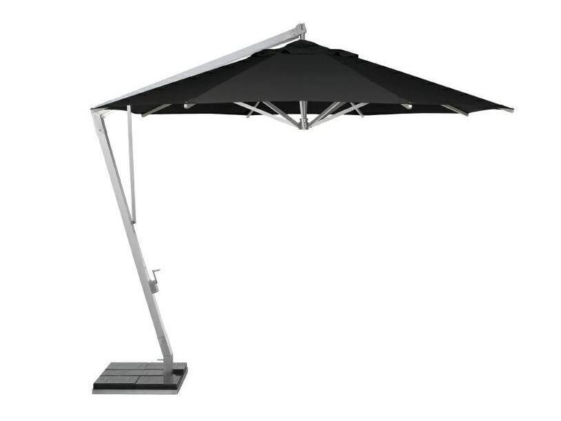 Offset square aluminium Garden umbrella HANGING UMBRELLA by MANUTTI