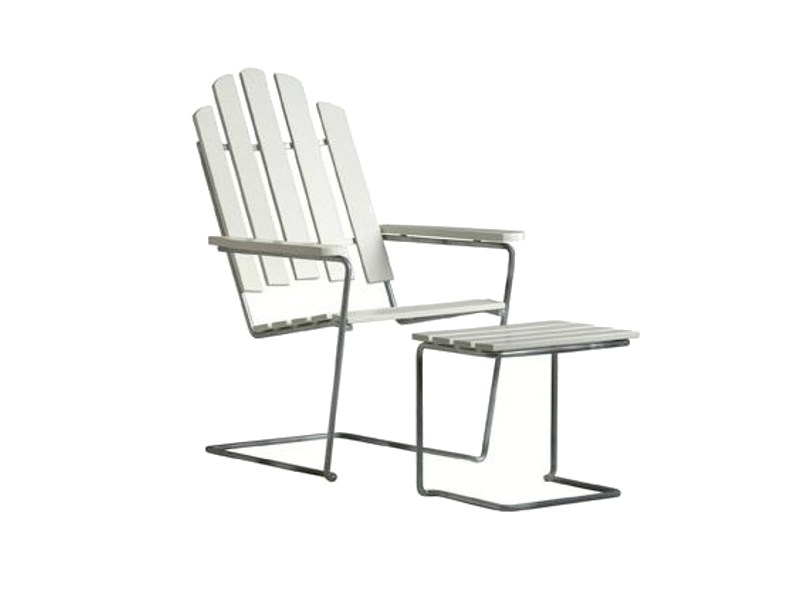 Cantilever garden armchair A3 | Cantilever easy chair by Grythyttan
